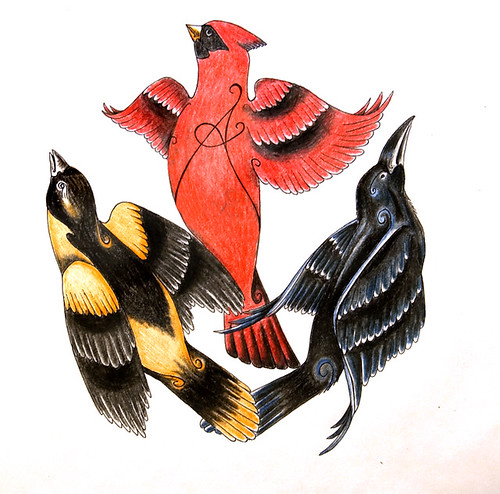 Red+cardinal+tattoo