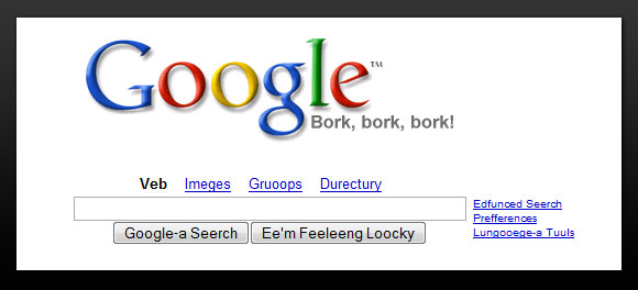 Google Search Swedish Chef