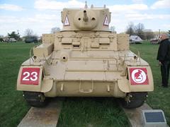 M3A1 Stuart (grobianischus) Tags: us gun tank wwii stuart honey armor m3a1 37mm aberdeenmaryland usarmyordnancemuseum