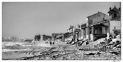 Guardamar del Segura (Pacomar) Tags: costa mar mediterraneo playa bn arena paseo guardamar casitas