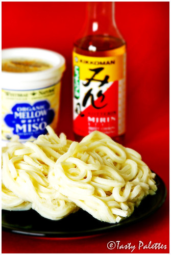 Frozen Udon Noodles With Mirin and White Miso