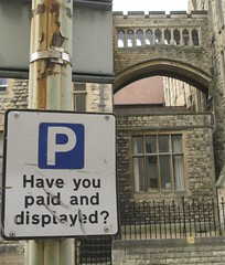 nostalgia of pay and display