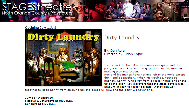 dirty laundry copy