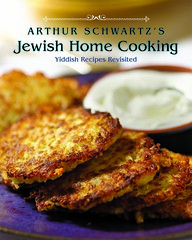Arthur Schwartz Jewish Home Cooking cover