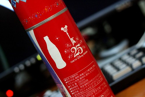 Gifts from Japan, Tokyo Disney Limited Edition Coke - NICK CHAN DOT NET