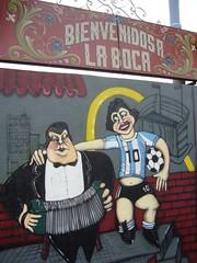Buenos Aires - La Boca - peinture