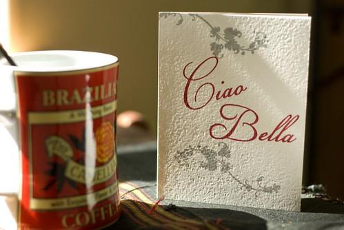 Ciao Bella Gocco with mug