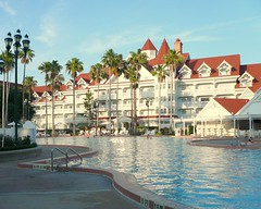 Walt Disney Grand Floridian Resort pool