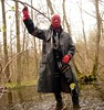 18 (Rubberping) Tags: rubber waders rubberboots gazmask