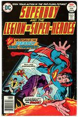 Legion of Super-Heroes 223 (Todd Wilson) Tags: comics superboy lsh legionofsuperheroes legionaires mikegrell