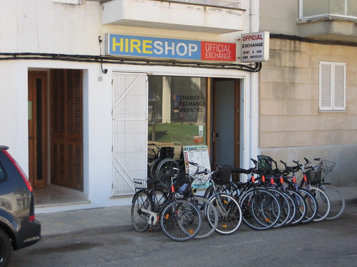 bike hire in puerto pollensa
