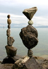 Stone Balance - July 13 (Heiko Brinkmann) Tags: sculpture nature water germany landscape ilovenature deutschland stones pebbles balance bodensee balancing rockbalancing lakeconstance rockbalance pebblebalancing stonebalancing stonebalance hickoree