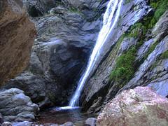 Descente du ravin de Laoscella : 2ème cascade