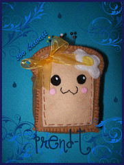 Pan  alfiletero Kawaii (PrenD-T) Tags: cute sweet handmade felt swap kawaii feltro japon hechoamano fieltro prendt