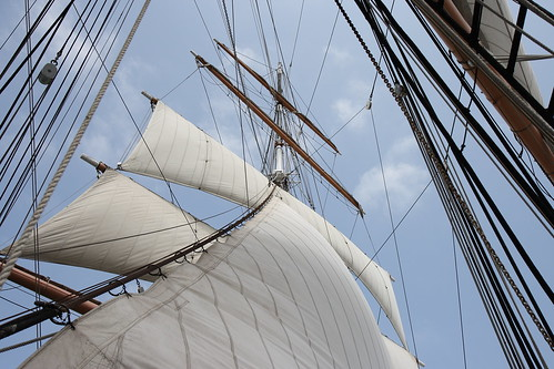 museum san diego maritime sail
