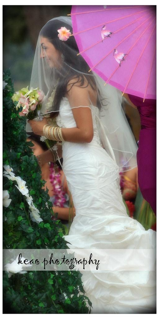 The bride in color