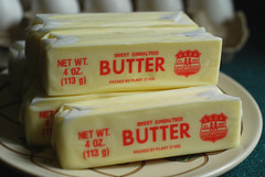Six sticks of butter.