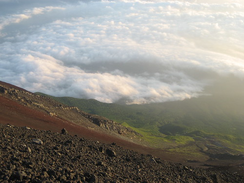 Landscape from Mt.Fuji