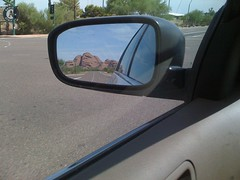 mountains in the rearview mirror (alist) Tags: alist robison alicerobison 85018 ajrobison