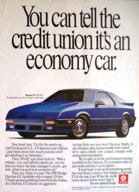 car magazine dodge daytona 1990 carads magazineads dodgedaytonaes