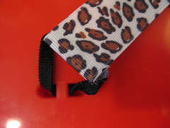 cheetah guitar strap