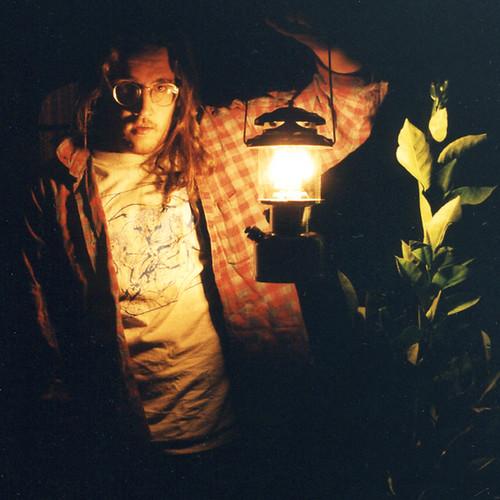 FHG with a Coleman lantern, circa 1996.