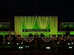 Happy Independence Day (Faisal.Saeed) Tags: pakistan building day 14 capital illuminations august olympus celebrations independence gop faisal islamabad e510 40150mm 14august faisalsaeed