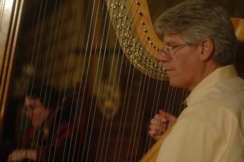 Stephen Hartman, harp by you.