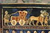 The Standard of Ur is actually a hollow box decorated with mosaics of lapus lazuli red limestone and shell set in bitumen Sumerian 26th century BCE (8) (mharrsch) Tags: death ancient war king mosaic tomb burial ur standard britishmuseum chariot sumer neareast lapuslazuli mharrsch heritagesite5