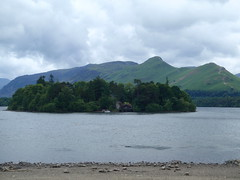 Derwent Isle with CatBells in the Distance (Keswick, United Kingdom) Photo