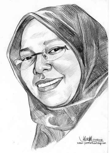 Portrait of a Malay Lady 220808