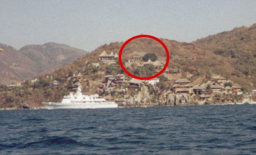 Partenon de Durazo: vista desde el mar