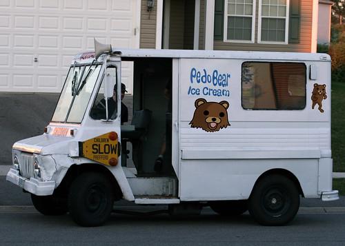 Ice cream trucks sex offender