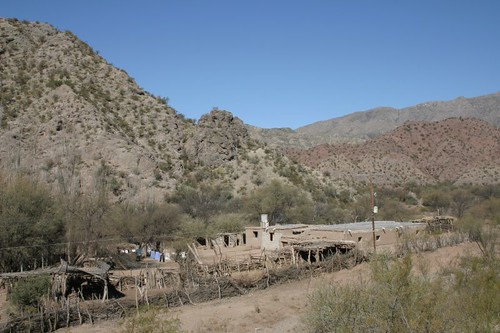 Argentina´s Wild West, between Jáchal and Huaco, San Juan Province.