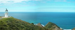 Cape Reinga wide (- MattW -) Tags: newzealand lighthouse travelling backpacking northisland kiwi aotearoa capereinga