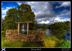 My trip to Scotland (8/20): Angus's Garden - Betty's Bell [backgroundstory!] (Klaus_GAP™ - taking a timeout) Tags: trees sky lake clouds garden geotagged scotland holidays bell scenic shade loch hdr hdri photomatix taynuilt supershot mywinners abigfave platinumphoto anawesomeshot ysplix amazingamateur theunforgettablepictures goldstaraward angussgarden lochangus bettysbell