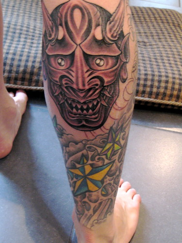 hannya mask tattoo. Hannya Mask - Day 1