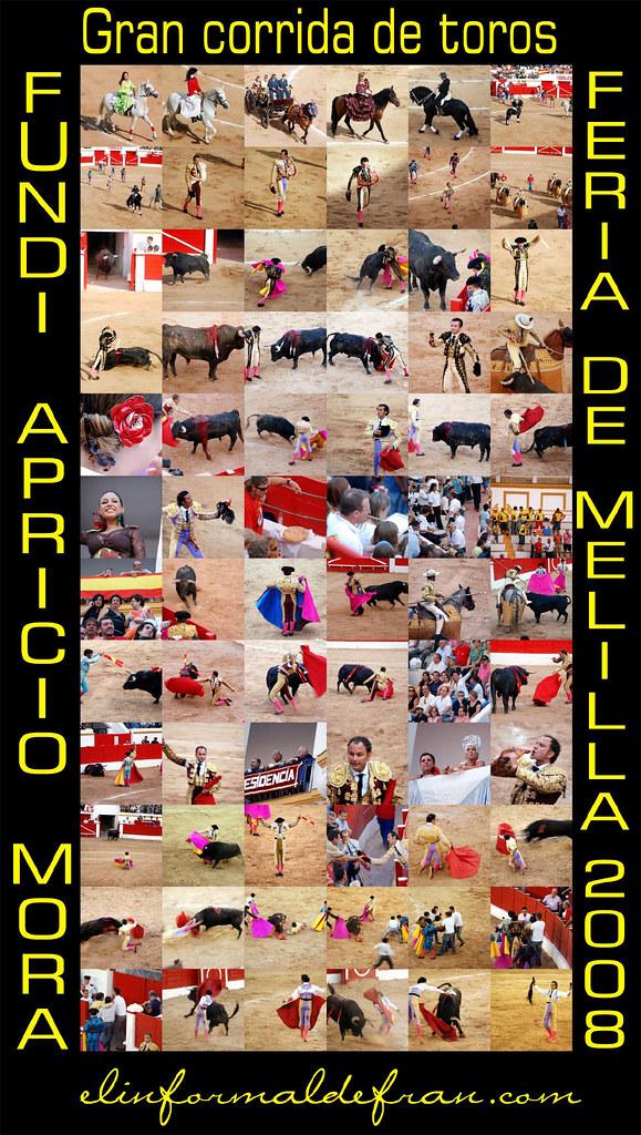 Corrida de toros Fería de Melilla 2008