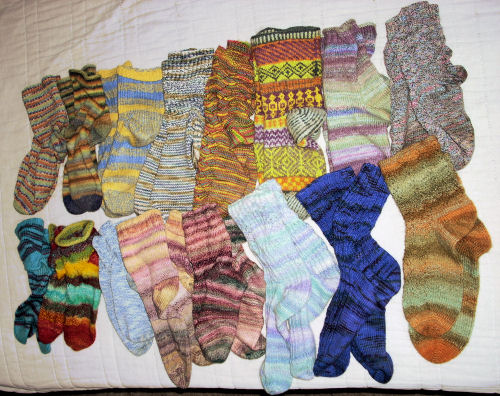 sock collection 1
