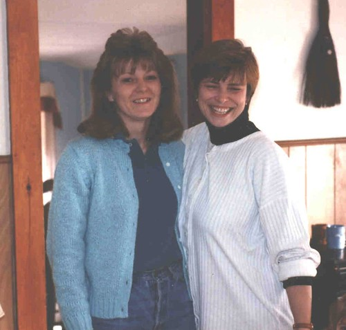 Lori and Rhonda 1993