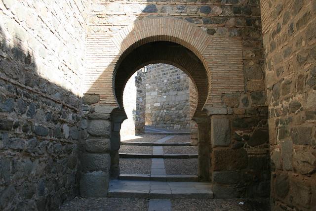 Puerta de Alcántara (interior)
