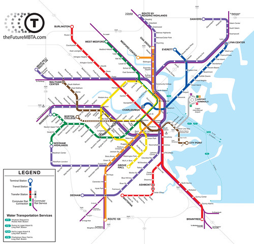 Final Future MBTA Map