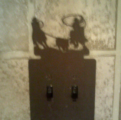 Rodeo Light Switch Plate