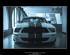 Ford Shelby GT500 in the Autodesk Gallery at One Market