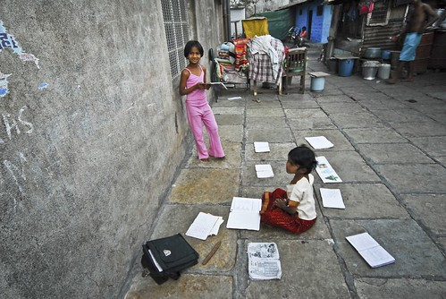 Doing the Homework- Pune India