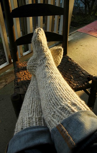 Ravelry Cottage Slipper Socks Knit Pattern By Lion Brand Yarn