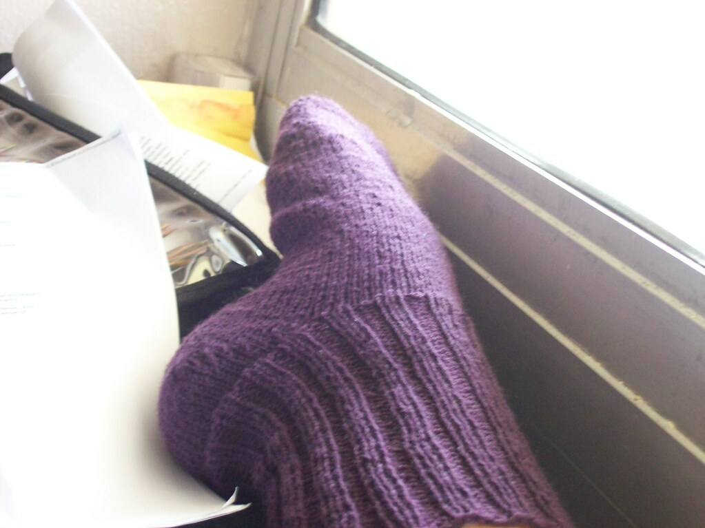 First ever finished sock!