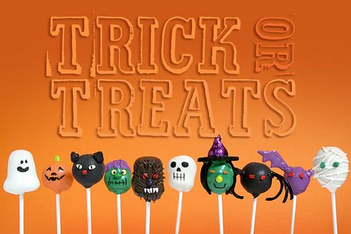 Trick or Treat Cake Pops by Bakerella
