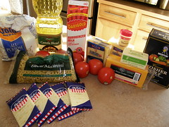 Ingredients for Gourmet Mac & Cheese