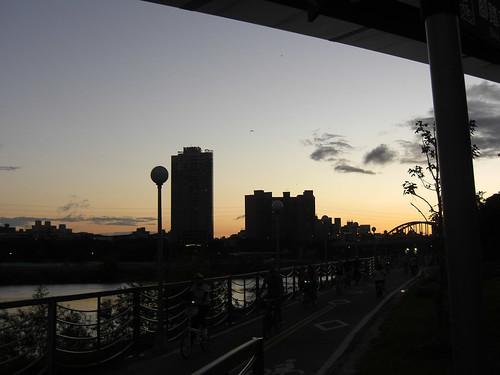 river bank park